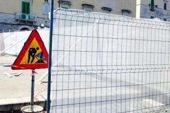 Prorogati i lavori dell'area pedonale Banchina San Domenico