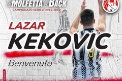 Lazar Kekovic è un nuovo giocatore della Pavimaro Molfetta
