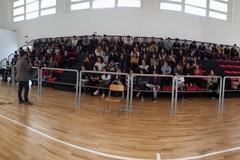 Gli studenti del Liceo Scientifico di Molfetta incontrano il professor Domenico di Bari