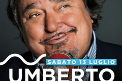 Umberto Smaila al  Villaggio Lido Nettuno il 13 luglio