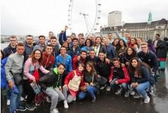 """Trentasei studenti dell'Ipsiam """"Vespucci"""" a Londra"""