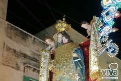 Il 20 aprile la statua della Madonna dei Martiri sull'altare con Papa Francesco