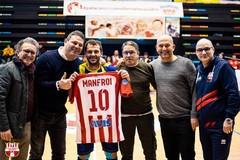 Felipe Manfroi torna a Molfetta e si prende l'omaggio del PalaPoli