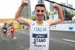 Massimo Stano bronzo nei mondiali di marcia 20 km. Che successo per l'Aden Exprivia Molfetta!