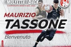 Maurizio Tassone è un nuovo giocatore della Pavimaro Pallacanestro Molfetta