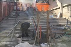 """Iniziati i lavori alla """"scalinata delle Monacelle"""" di Molfetta"""