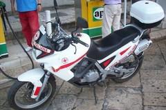 Nella notte rubata la moto di servizio in dotazione alla Croce Rossa di Molfetta