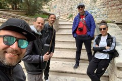 """Alessandro Bufi e Davide Pischettola raccontano a Molfetta il progetto """"Musica e arte vs degrado"""""""