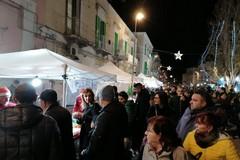 Natale a Molfetta, anche a Corso Fornari si respira un clima di festa