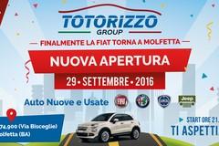Torna a Molfetta la Fiat con il Centro della Totorizzo group