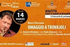 """Roberto Ottaviano in """"Omaggio a Trovajoli"""""""