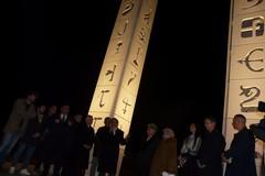 """Inaugurate da Livia Pomodoro """"Le nuove torri"""" Molfetta"""