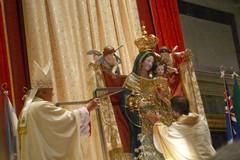 Festa patronale, Mons. Cornacchia incorona la Madonna dei Martiri