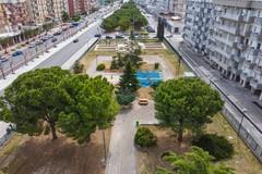 Ultimati i lavori al parco di via Achille Salvucci a Molfetta. Le foto