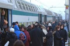 Treno in avaria, altra mattinata di passione per i pendolari molfettesi