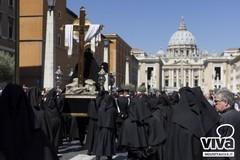 Cinque anni dopo la processione della Pietà a Roma. Il ricordo dell'Arciconfraternita della Morte