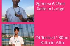 """""""AllenaMenti"""": Molfetta brilla nei campionati individuali under 14 e under 16"""