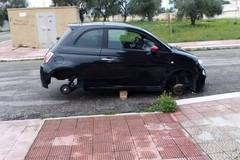 Rubati pneumatici ad auto in sosta: brutto risveglio per i cittadini di Molfetta