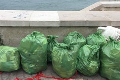 Combattere l'inciviltà con la civiltà: pulizia spontanea della spiaggia a Molfetta