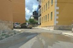 Rione Madonna dei Martiri,rotta una conduttura d'acqua potabile