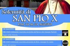 Solennità di San Pio X : il calendario delle celebrazioni dal 18 al 21 agosto