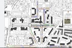 Come sarà il mercato nel Rione Arbusto: la planimetria del luogo
