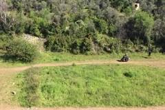 Lama Martina sfregiata: in moto tra i sentieri del parco naturale