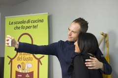 Scuola del Gusto, gran menù show con Simone Rugiati