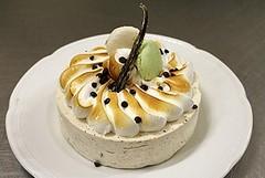 Semifreddo all'Italiana alla Vaniglia con gocce di Cioccolato Fondente