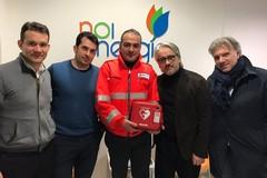 """Un nuovo defibrillatore per la cittadinanza grazie a SerMolfetta e """"Noi Energia"""""""