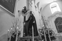 Riti pasquali, oggi la processione dell'Addolorata con tempo incerto