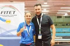 Il Circolo Tennistavolo Molfetta sul tetto d'Italia con Sofia Minurri