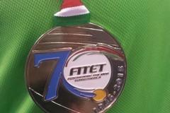 Tennistavolo, Magarelli argento ai campionati nazionali paraolimpici