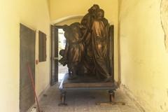 """Il trasporto straordinario della """"Deposizione"""" di Cozzoli al Museo Diocesano - LE IMMAGINI"""