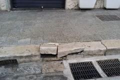 Notte di San Silvestro, danni in via Baccarini