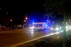 Ricoverato in ospedale l'uomo svenuto in strada