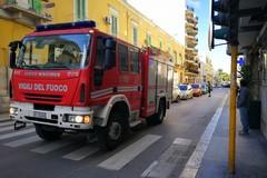 Attimi concitati e traffico bloccato in via Tenente Fiorino