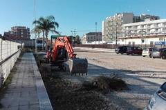 Aperto il cantiere per il rifacimento di Via Vecchia Madonna della Rosa a Molfetta
