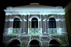 La chiesa del Purgatorio in luce con il video mapping