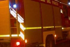 Auto in fiamme in Via Salepico