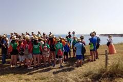 Ottanta ragazzi del Ciofs di Ruvo hanno ripulito Cala San Giacomo