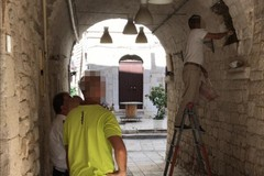 Una delle ultime icone votive di Molfetta è stata deturpata in via Forno