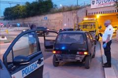Con una Fiat 500 rubata a Molfetta commette uno scippo a Bisceglie