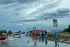 Pioggia e vento forti su Molfetta: Protezione Civile in allerta