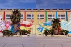 Rifondazione sul murales scomparso: «Se questa è l'idea di decoro urbano...»