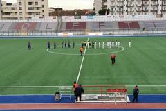 Molfetta Calcio, la partita contro il Brindisi sarà recuperata il 20 gennaio
