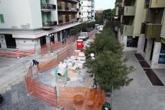 Lavori a Corso Umberto, cantiere giunto all'ultimo tratto. Le foto