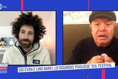 Siparietto tra Giò Evan e Lino Banfi su Rai 1, parlando anche di Molfetta