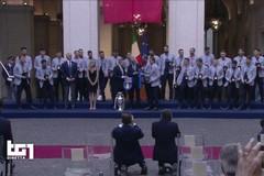 Palazzo Chigi celebra la vittoria dell'Italia a Euro 2020. Presente anche Garofoli