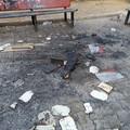 Villetta in via Tenente Caputo: vandali appiccano incendio